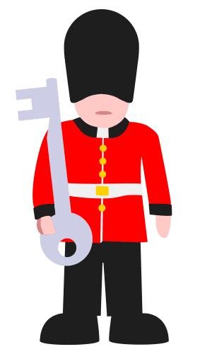 Keyjack - der Key Guard